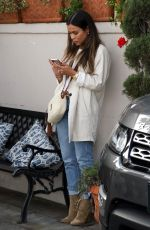 OCTOBER GONZALEZ at Il Pastaio in Beverly Hills 01/11/2019