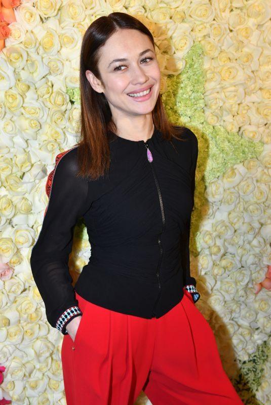 OLGA KURYLENKO at Schiaparelli Haute Couture Fashion Show in Paris 01/21/2019