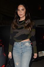 OLIVIA MUNN Arrives at Tell Me Everything in West Hollywood 01/20/2019