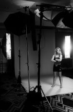 PAIGE VANZANT on the Set of a Photoshoot, January 2019
