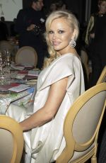PAMELA ANDERSON at Diner de la Mode at Paris Fashion Week 01/24/2019