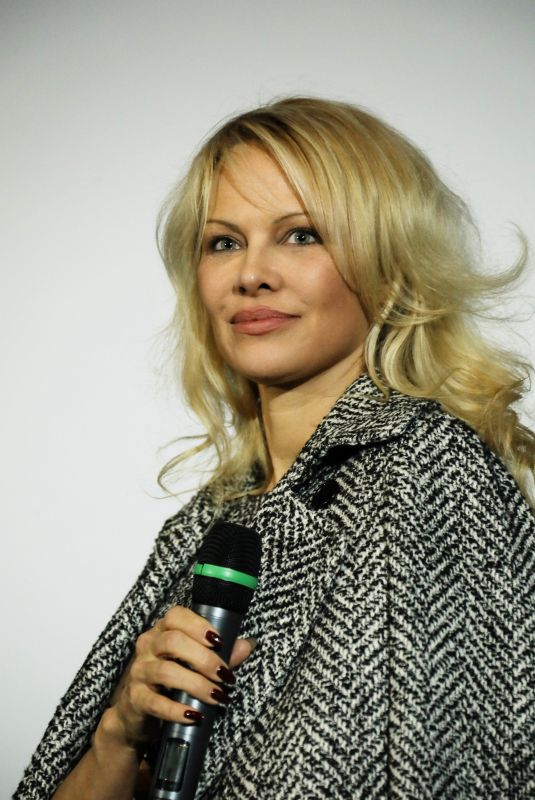 PAMELA ANDERSON at Nicky Larson Presentation in Marseille 01/11/2019