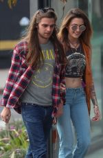 PARIS JACKSON and Gabriel Glenn Out on Melrose Ave in West Hollywood 01/29/2019