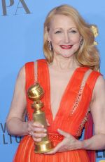PATRICIA CLARKSON at 2019 Golden Globe Awards in Beverly Hills 01/06/2019