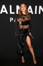 PATRICIA CONTRERAS at Balmain Fashion Show in Paris 01/18/2019