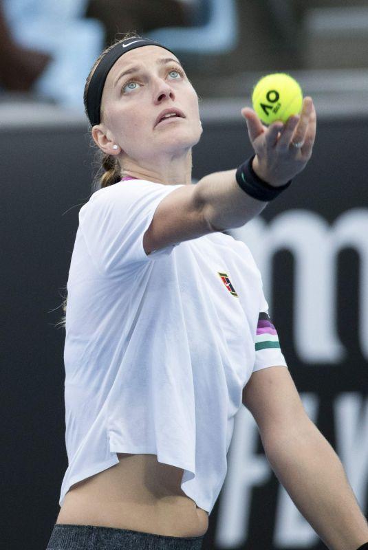 PETRA KVITOVA at 2019 Australian Open at Melbourne Park 01/16/2019