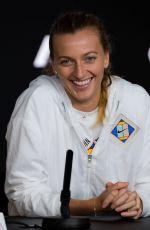 PETRA KVITOVA at 2019 Australian Open Press Conference in Melbourne 01/18/2019