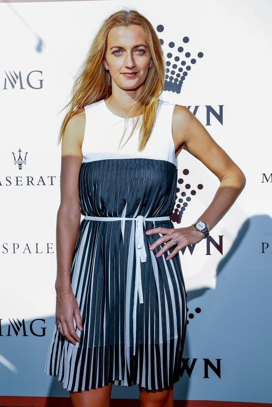 PETRA KVITOVA at Crown Img Tennis Party in Melbourne 01/13/2019