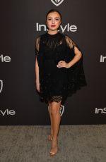 PEYTON LIST at Instyle and Warner Bros Golden Globe Awards Afterparty in Beverly Hills 01/06/2019