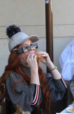PHOEBE PRICE Out for Lunch in Beverly Hills 01/25/2019
