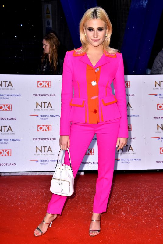 PIXIE LOTT at 2019 National Television Awards in London 01/22/2019