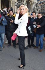 PIXIE LOTT at Schiaparelli Haute Couture Fashion Show in Paris 01/21/2019