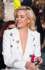 PIXIE LOTT Out and About in Paris 01/21/2019