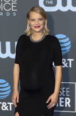 Pregnant JOANNA KULIG at 2019 Critics' Choice Awards in Santa Monica 01/13/2019