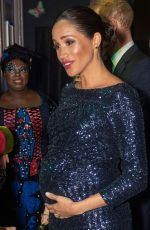 Pregnant MEGHAN MARKLE at Cirque Du Soleil Totem 10th Anniversary Premiere in London 01/16/2019
