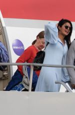 PRIYANKA CHOPRA and Nick Jonas Arrives in Caribbean 01/06/2019