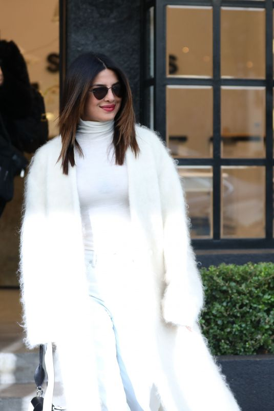 Priyanka Chopra Leaves A Hair Salon In Los Angeles 01 22 2019