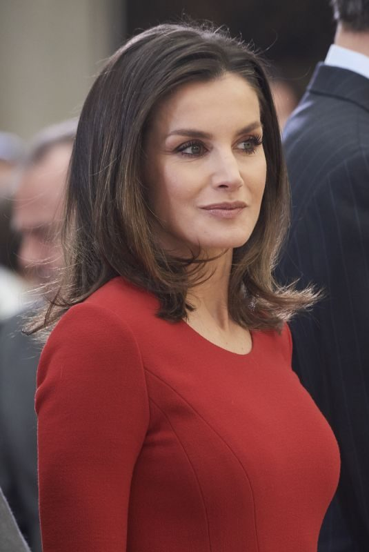 QUEEN LETIZIA OF SPAIN at National Sports Awards in Madrid 01/10/2019
