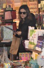 RACHEL BILSON Shopping at Paper Source in Studio City 01/15/2019