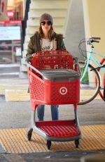 RACHEL BILSON Shopping at Target in Los Angeles 01/11/2019
