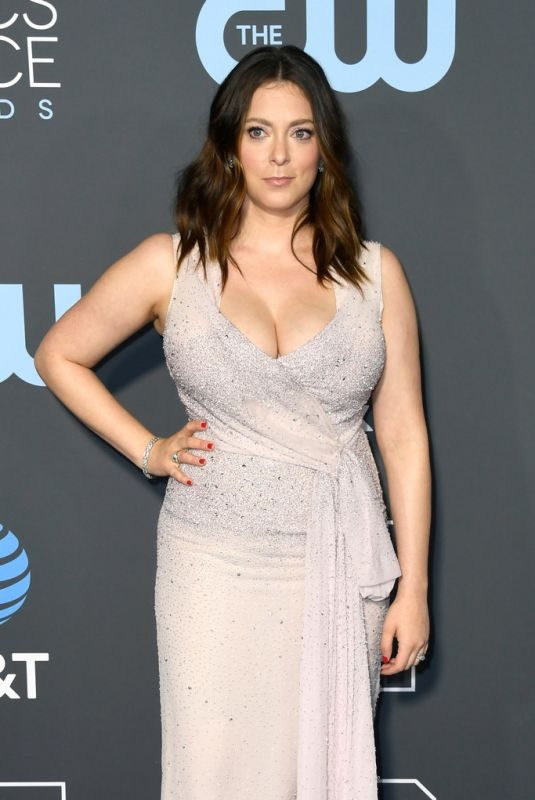 RACHEL BLOOM at 2019 Critics' Choice Awards in Santa Monica 01/13/2019