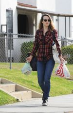 RACHEL MCADAMS Out Shopping in Los Angeles 01/21/2019