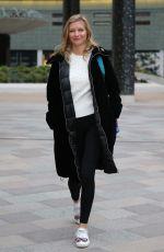 RACHEL RILEY Leaves ITV Studios in London 01/10/2019