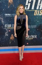 REBECCA ROMIJN at Star Trek: Discovery Season 2 Premiere in New York 01/17/2019