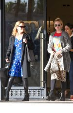 REESE WITHERSPOON and AVA PHILLIPPE Shopping at Barneys New York in Beverly Hills 01/08/2019