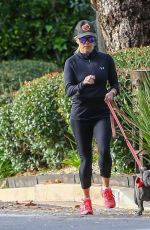 REESE WITHERSPOON Out with Her Dogs in Santa Monica 01/13/2019