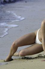 RHIANNE SAXBY in Bikini at a Beach in Spain 01/08/2019
