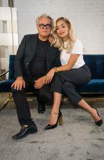RITA ORA at Giuseppe x Rita Ora Footwear Launch in London 01/08/2019