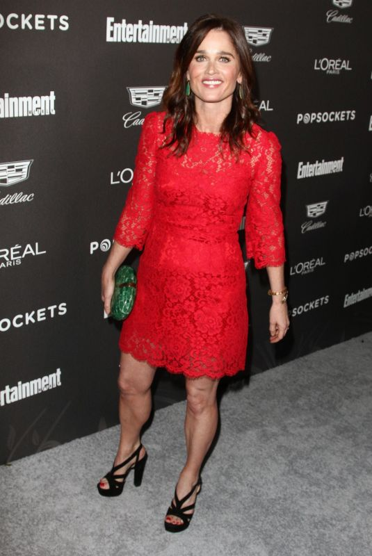 ROBIN TUNNEY at Entertainment Weekly Pre-sag Party in Los Angeles 01/26/2019