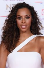 ROCHELLE HUMES at 2019 National Televison Awards in London 01/22/2019
