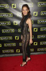 ROCSI DIAZ at Karate Combat Hollywood Livestreaming Karate Competition in Los Angeles 01/24/2019