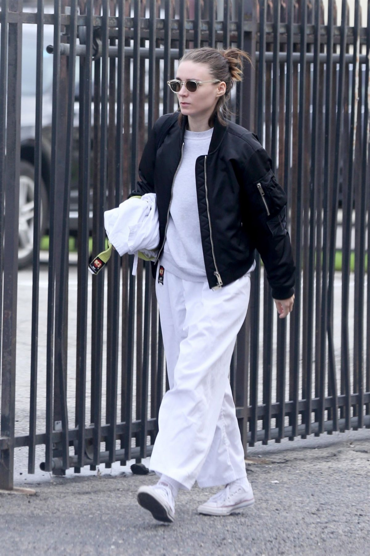 ROONEY MARA Arrives at Karate Class in Beverly Hills 01/18/2019