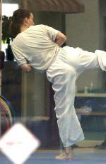 ROONEY MARA at Karate Class in Los Angeles 01/14/2019