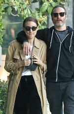 ROONEY MARA Out and About in Los Angeles 01/11/2019