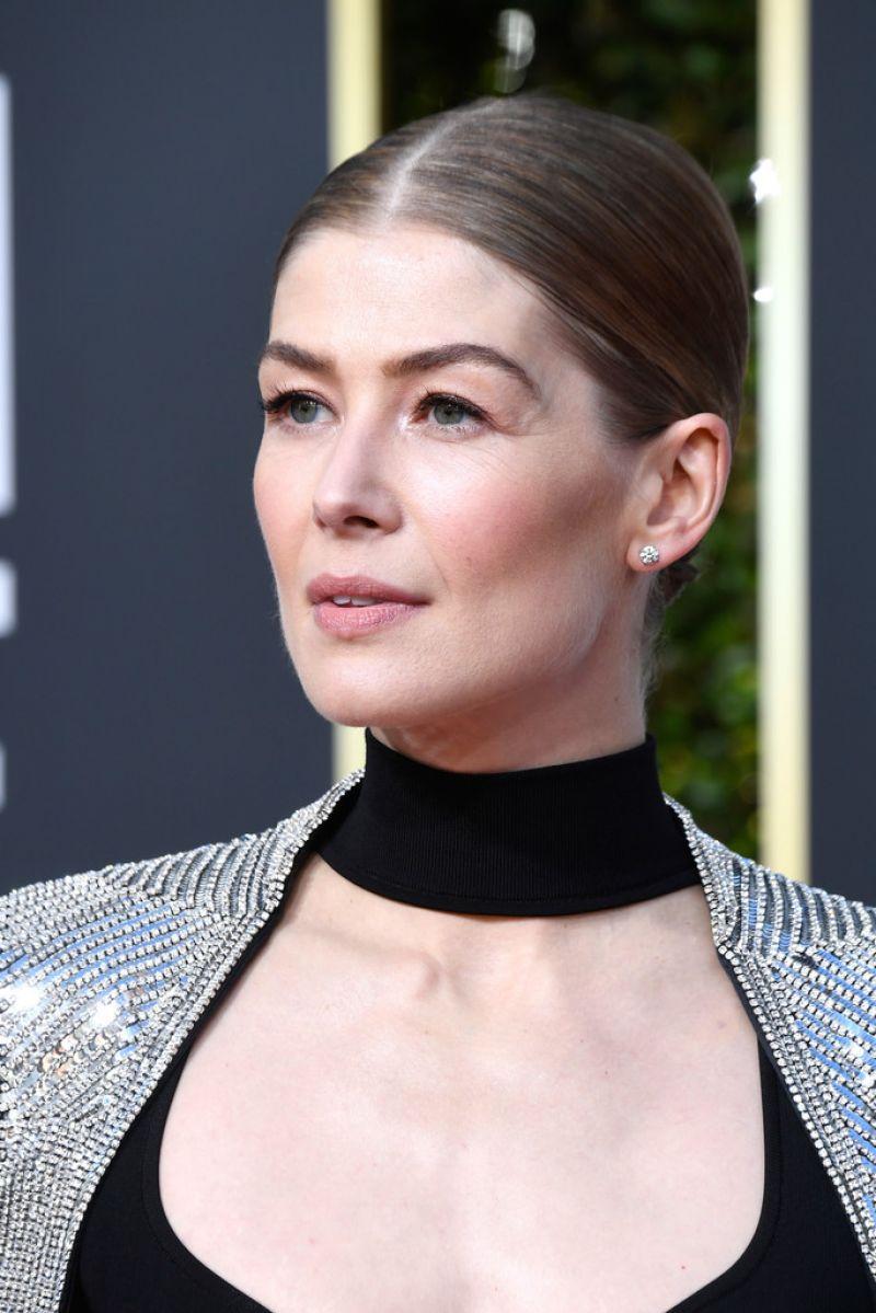 ROSAMUND PIKE at 2019 Golden Globe Awards in Beverly Hills 01/06/2019 - HawtCelebs