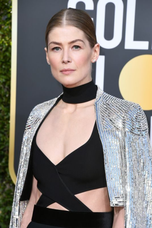 ROSAMUND PIKE at 2019 Golden Globe Awards in Beverly Hills 01/06/2019