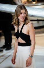 ROSAMUND PIKE at IWC Booth at Maison