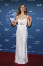 ROSAMUND PIKE at IWC Schaffhausen Gala in Geneva 01/15/2019