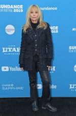 ROSANNA ARQUETTE at Untouchable Premiere at Sundance Film Festival 01/25/2019