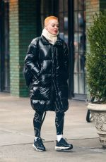 ROSE MCGOWAN Arrives at Bowery Hotel in New York 01/23/2019