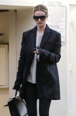 ROSIE HUNTINGTON-WHITELEY at Lancer Skin Care Clinic in Beverly Hills 01/18/2019