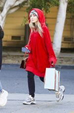 SABRINA CARPENTER Out Shopping in Los Angeles 01/24/2019