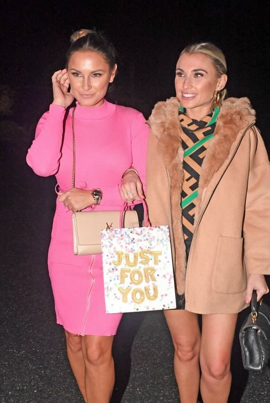 SAM and BILLIE FAIERS at Billie's Birthday Selebrations in Essex 01/16/2019