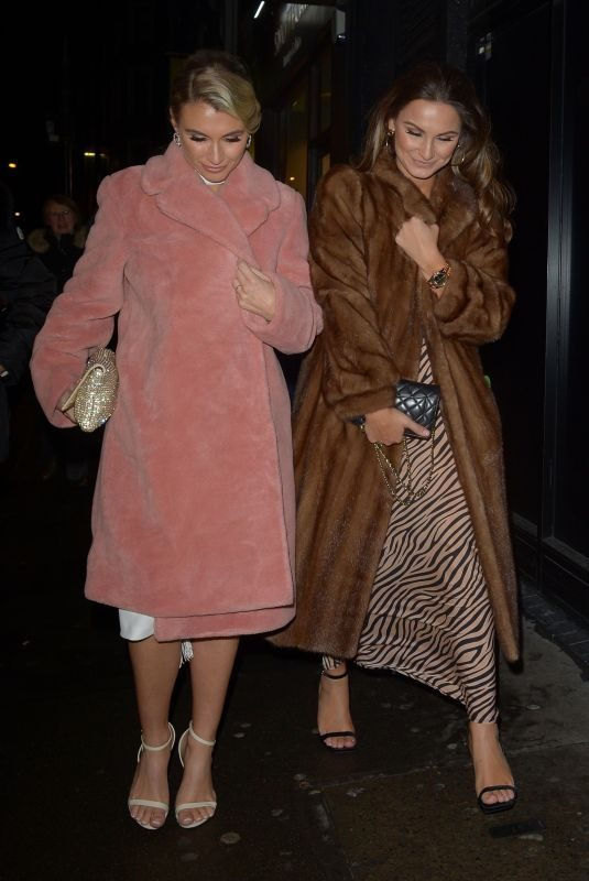 SAM and BILLIE FAIERS Night Out in London 01/26/2019