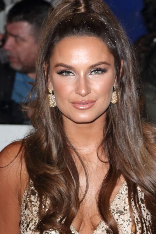 SAM FAIERS at 2019 National Televison Awards in London 01/22/2019