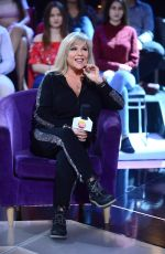 SAMANTHA FOX at What is the Melody? Reality Show in Warsaw 01/11/2019
